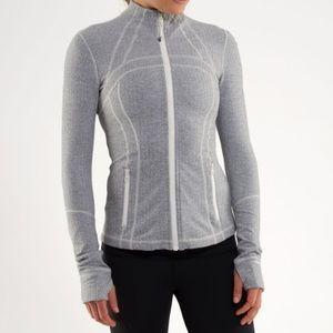 Lululemon Define Jacket Herringbone size 12